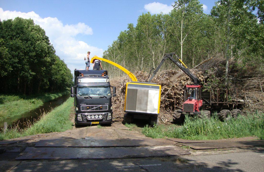 vrachtwagen laden